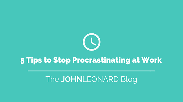 5 Tips to Stop Procrastinating at Work (1)