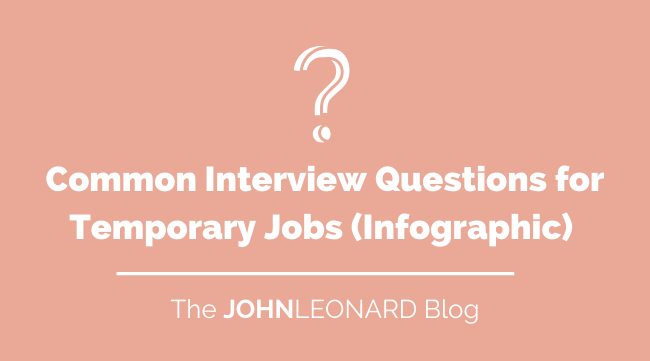 Common Interview Questions for Temporary Jobs (Info)
