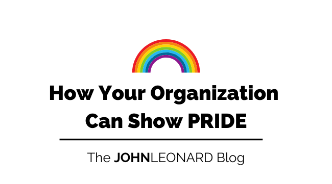 How Your Company Can Show PRIDE