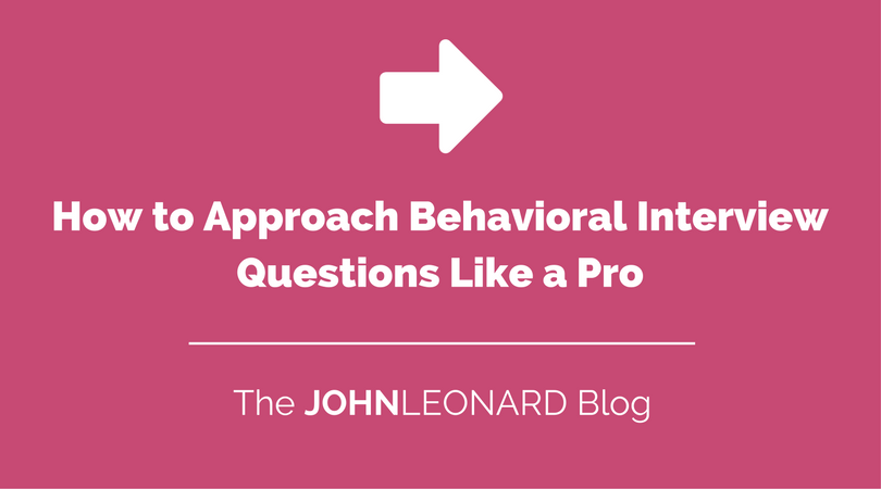 behavioral interviewing questions