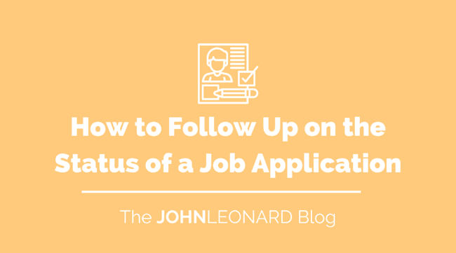 How to Follow Up on the Status of Your Job Application