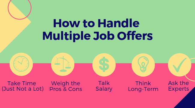 How to Handle Multiple Job Offers 1