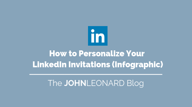 How to Personalize Your Linked Invitations (Infographic)