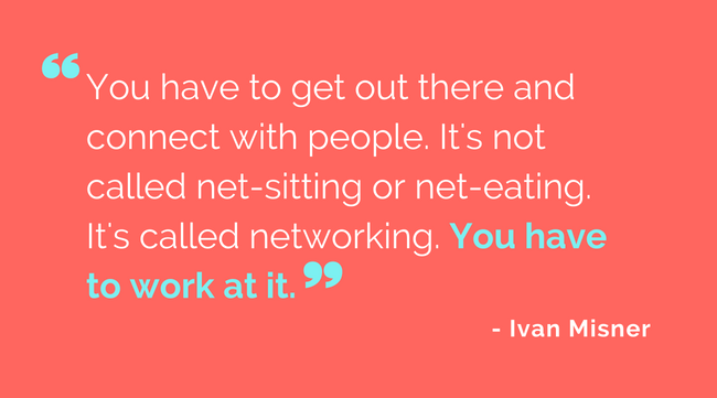 Networking Conversation Starters Quote