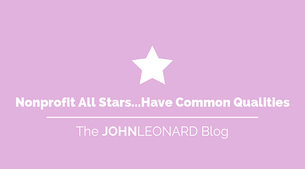 Nonprofit All Stars...Have Common Qualities