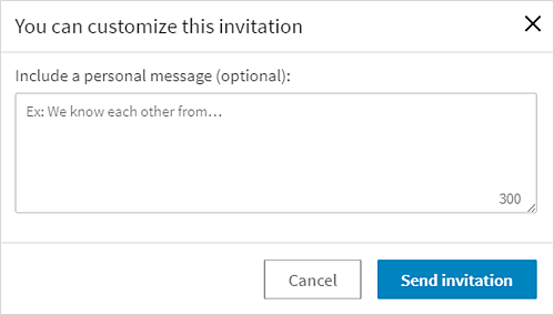how to personalize your linkedin invitations with examples
