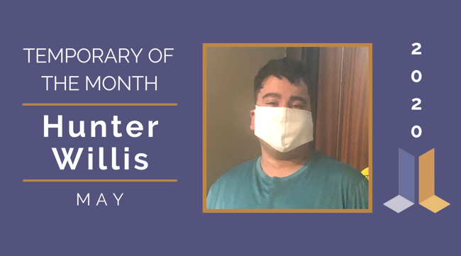 Temp of the Month- May 2020