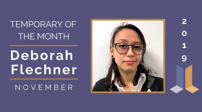 Temp of the Month- November 2019