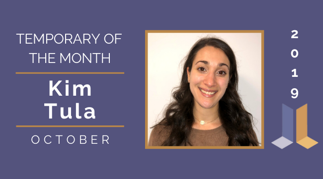 Temp of the Month- October 2019