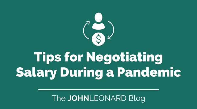Tips for  Negotiating Salary During a Pandemic
