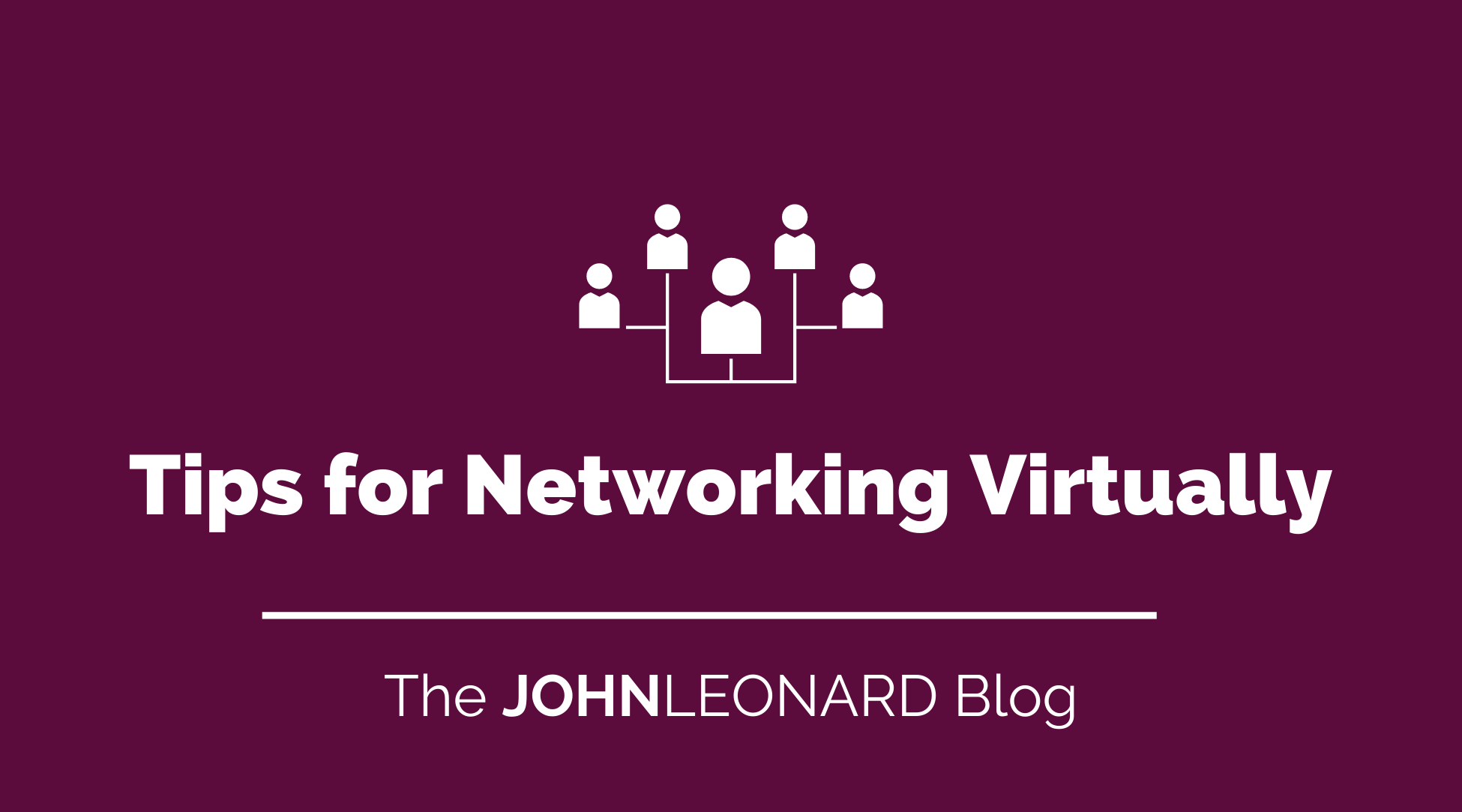 Tips for Networking Virtually