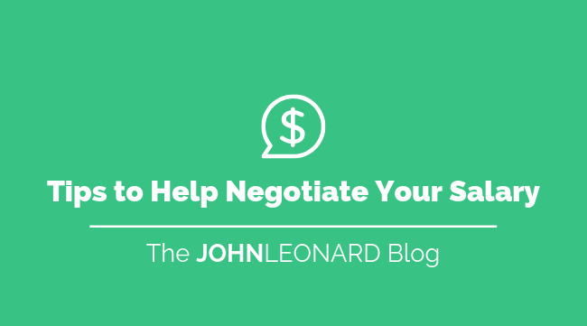 Tips to Help Negotiate Your Salary