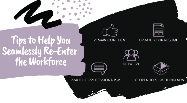 Tips to Help You Seamlessly Re-Enter the Workforce (1)
