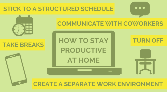 Tips to Help You Stay on Track When Working From Home (1)
