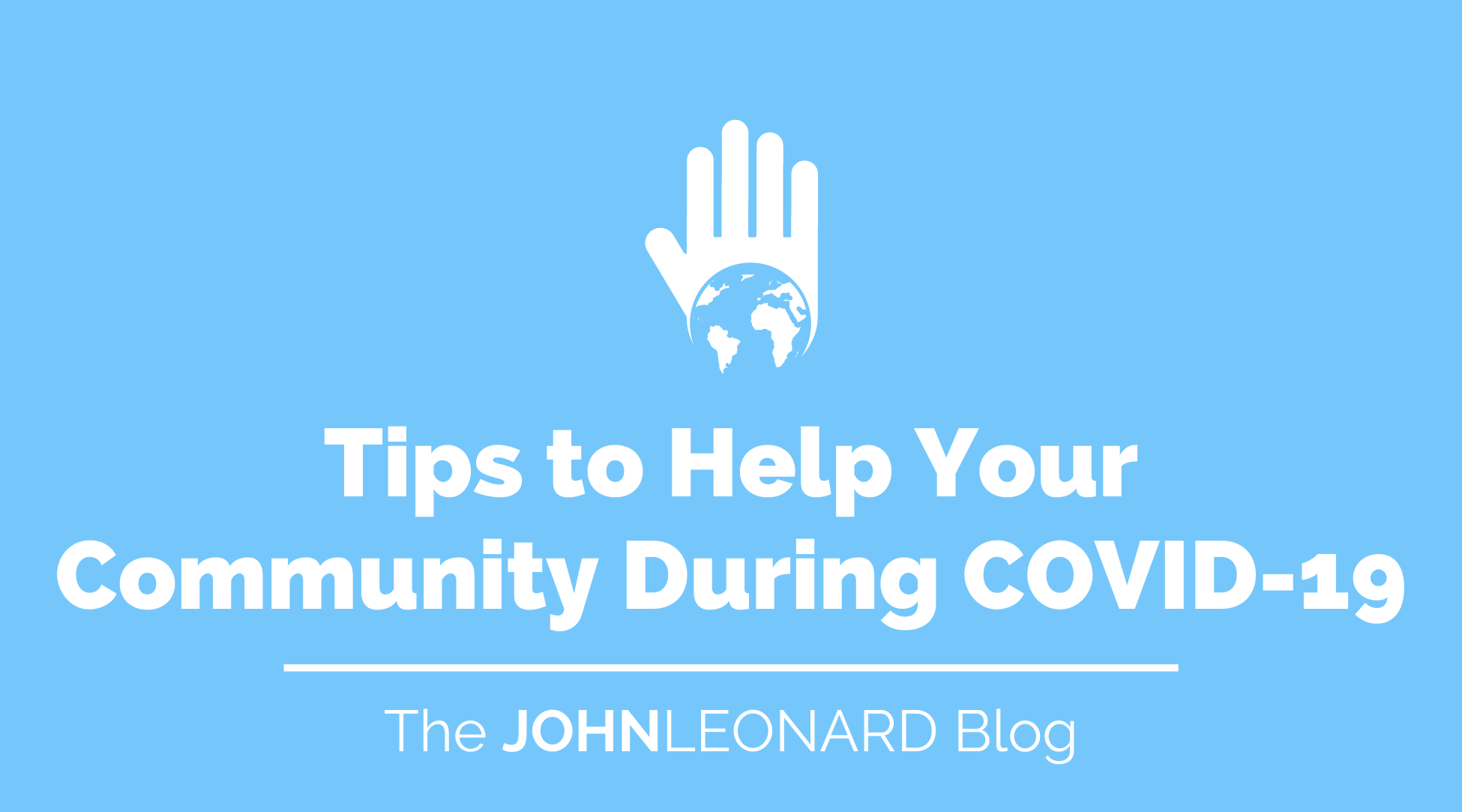 Tips to Help Your Community During COVID-19