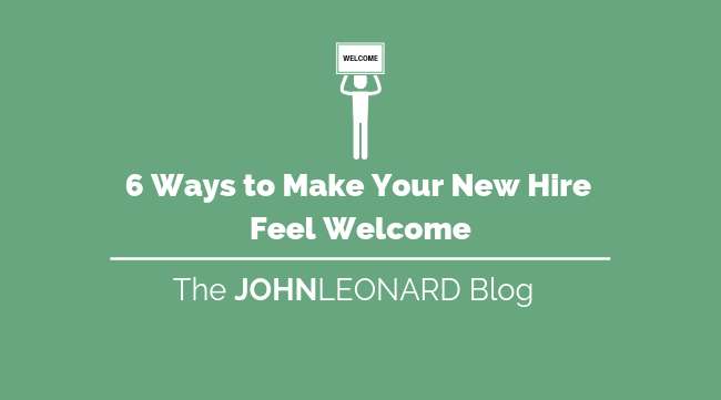 Tips to Make Your New Hire Feel Welcome-1
