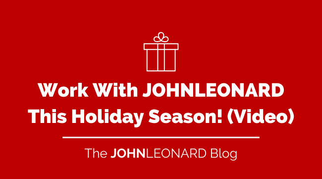 Work with us this holiday season (video)